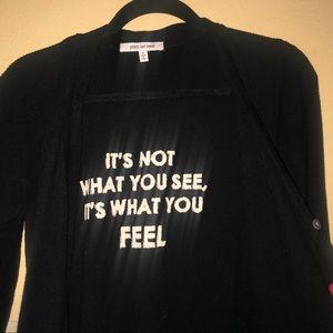 Peace Love World Sweaters - NWOT-Peace Love World Black Long Cardigan